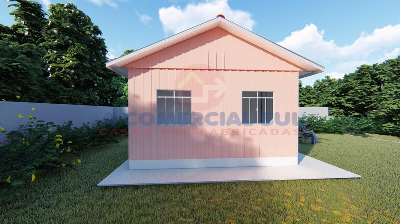 Casa Madeira 30M² - 2 Qtos.