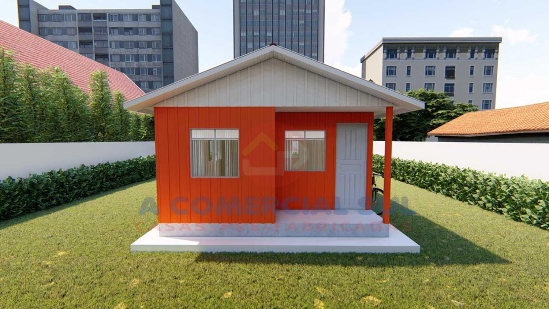 Casa Madeira 40M² - 3 Qtos.