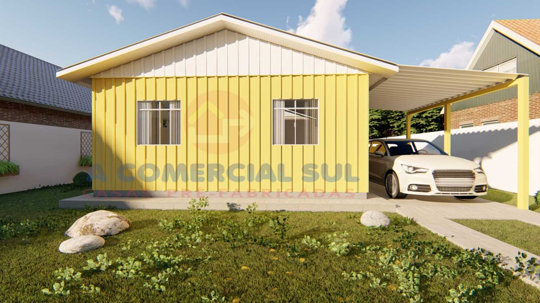 Casa Madeira 42M² - 2 Qtos.