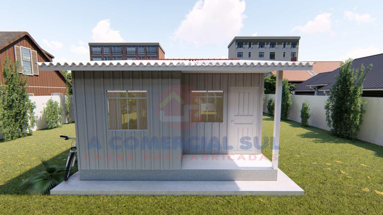 Casa Madeira 50M² - 3 Qtos. Mod 01
